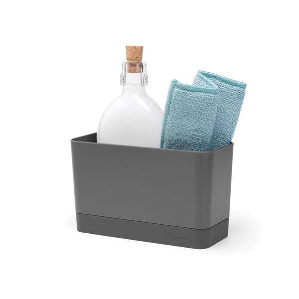 Органайзер за мивка Brabantia Dark Grey
