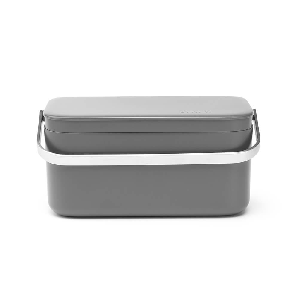 Кутия за хранителни отпадъци Brabantia Dark Grey