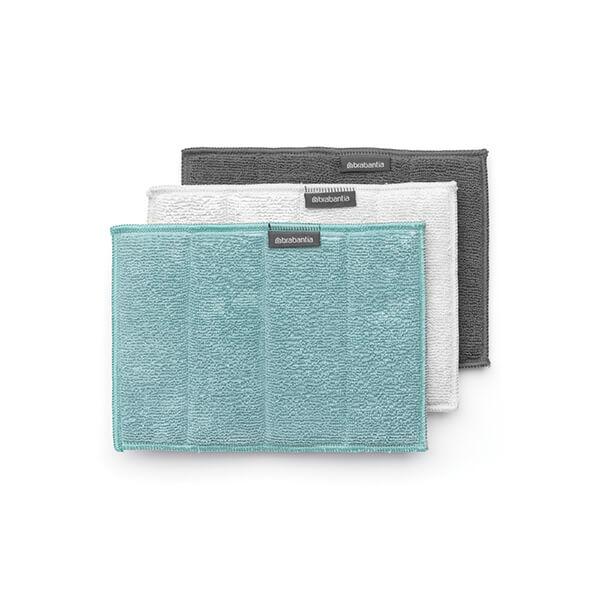 Микрофибърни кърпи Brabantia комплект, микс цветове, 3 броя