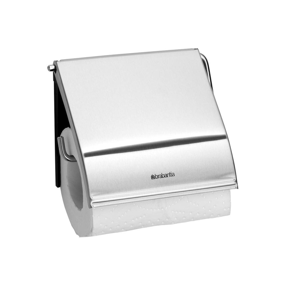 Държач за тоалетна хартия Brabantia Classic Matt Steel