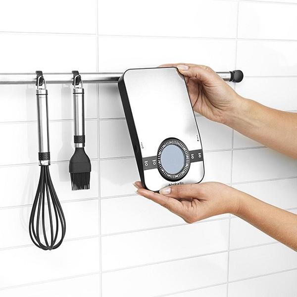 Кухненска везна Brabantia Profile Matt Steel, дигитална, с таймер, правоъгълна(3)