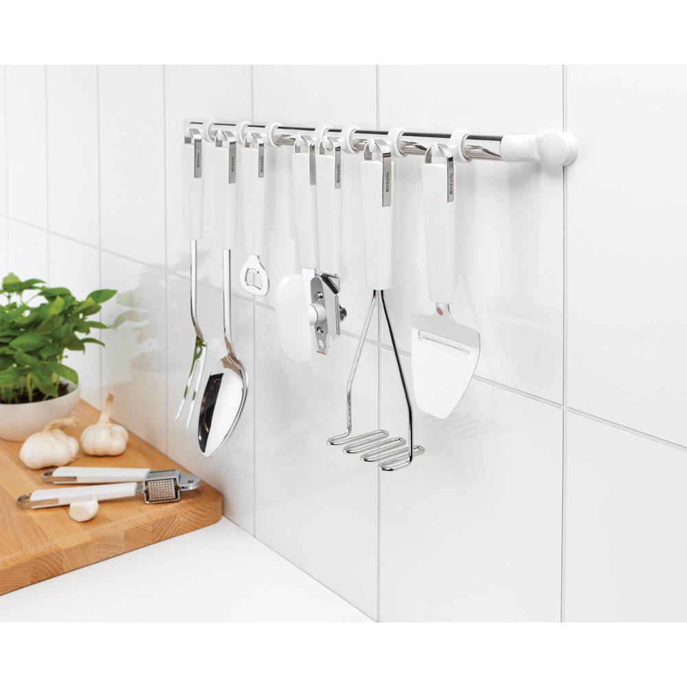 Поставка за кухненски прибори за стена Brabantia Essential 12 куки(1)