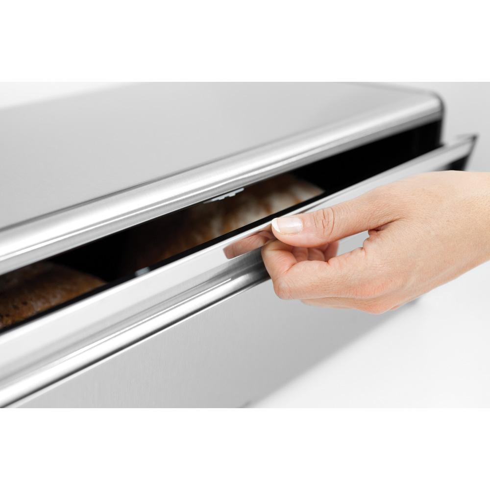 Кутия за хляб Brabantia Fall Front Matt Steel Fingerprint Proof(4)