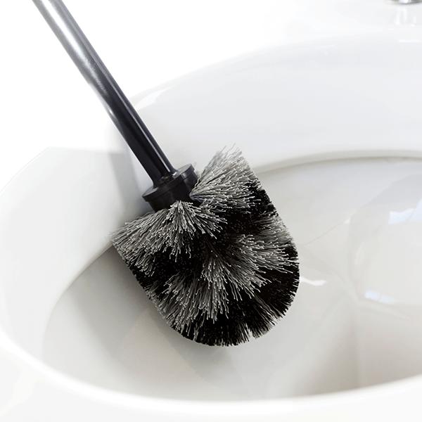 Четка за тоалетна Brabantia Classic Matt Steel с черна дръжка(4)
