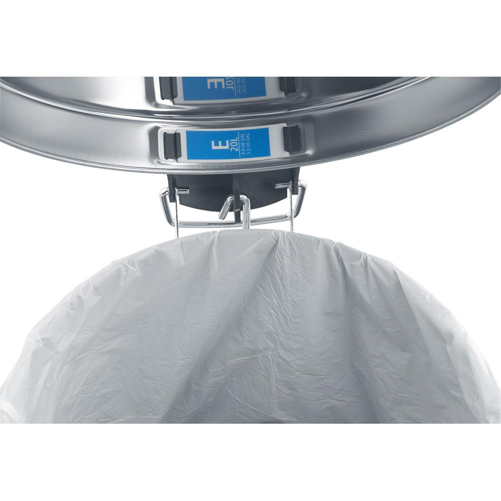 Торба за кош Brabantia размер E, 20L, 20 броя, бели(3)