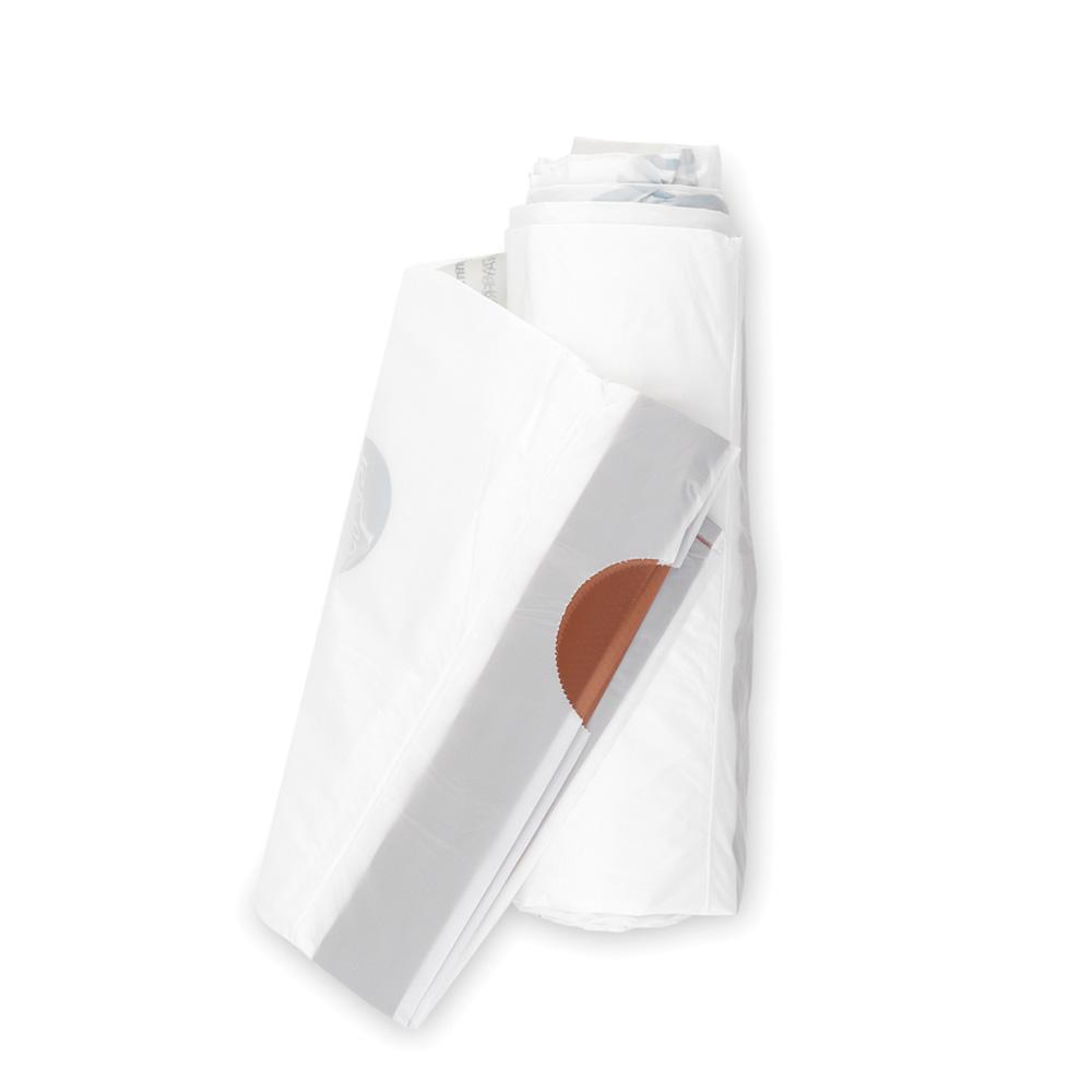 Торба за кош Brabantia размер L, 40-45L, 10 броя, бели(1)
