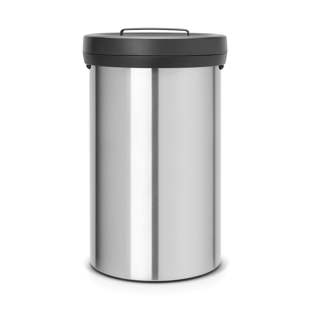 Кош за смет Brabantia Big Bin 60L, Matt Steel Fingerprint Proof