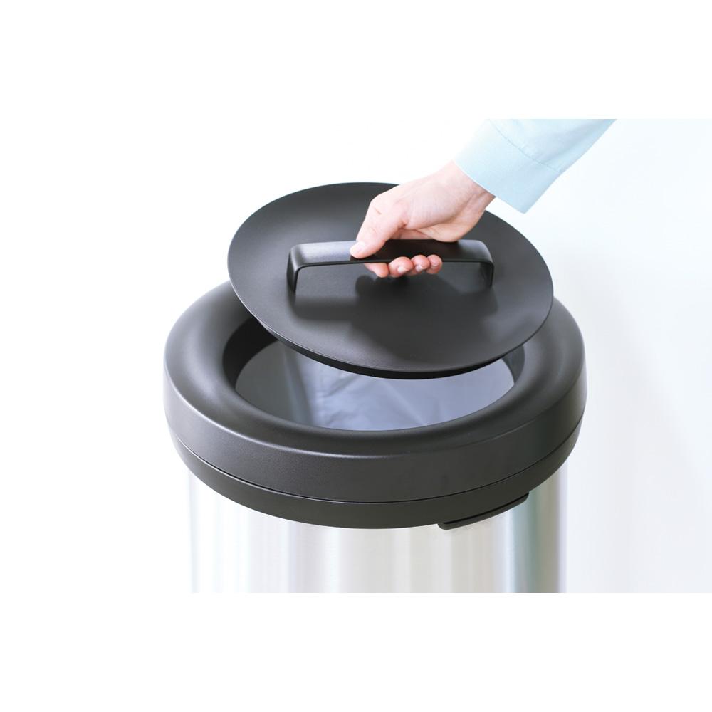 Кош за смет Brabantia Big Bin 60L, Matt Steel Fingerprint Proof(7)