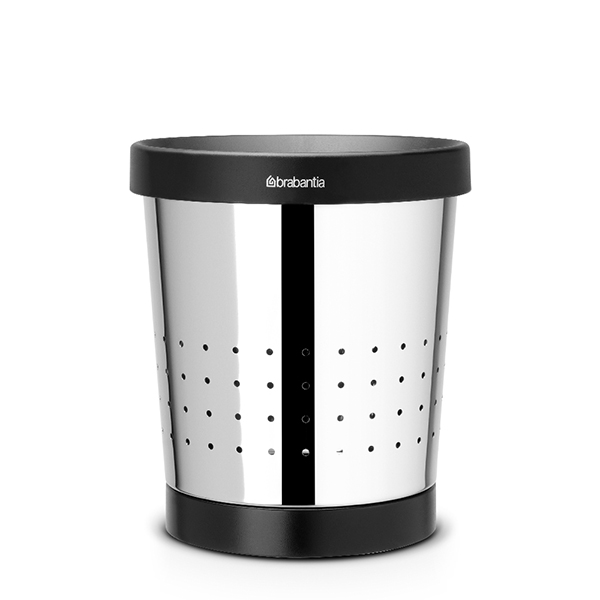 Кош за хартия Brabantia 5L, Brilliant Steel