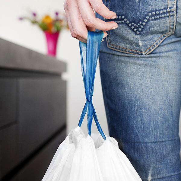 Торба за кош Brabantia размер E, 20L, 40 броя, бели(2)