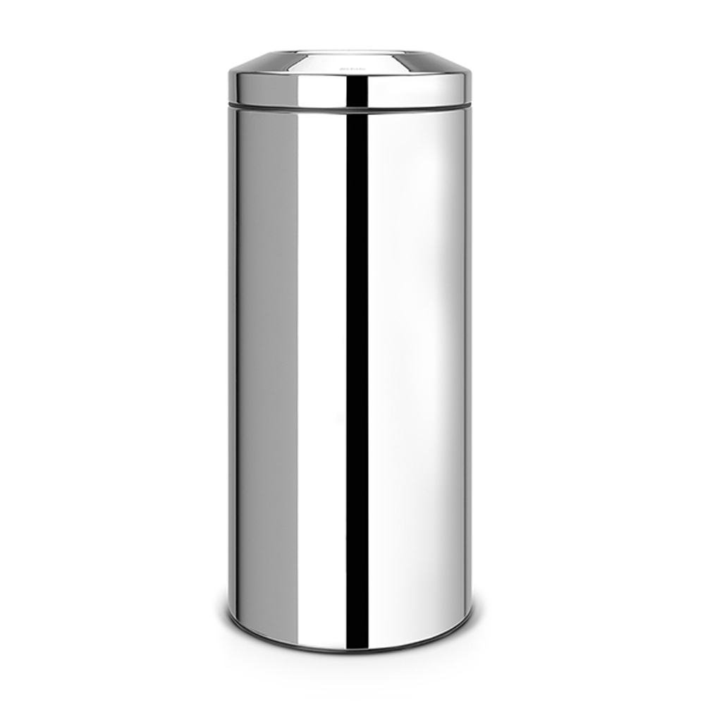 Кош за смет Brabantia Flame Guard 30L, Brilliant Steel