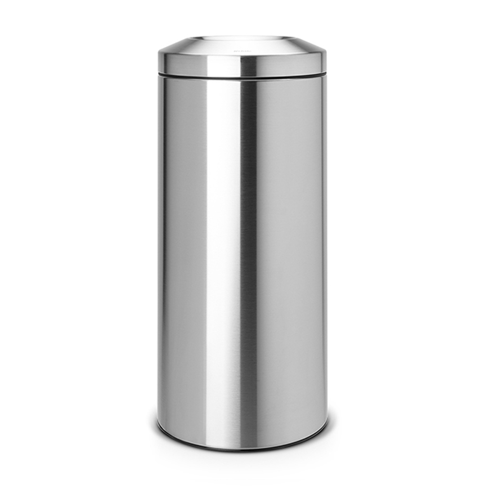 Кош за смет Brabantia Flame Guard 30L, Matt Steel