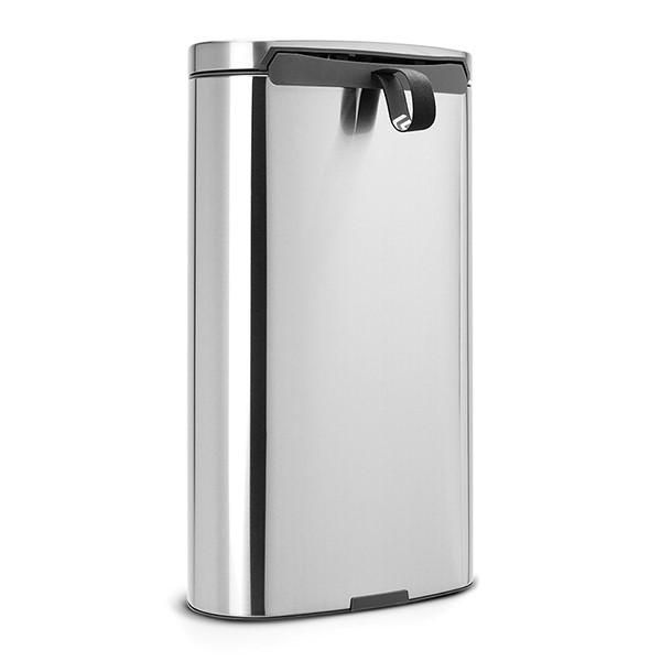 Кош за смет с педал Brabantia FlatBack+ 30L, Matt Steel Fingerprint Proof(2)