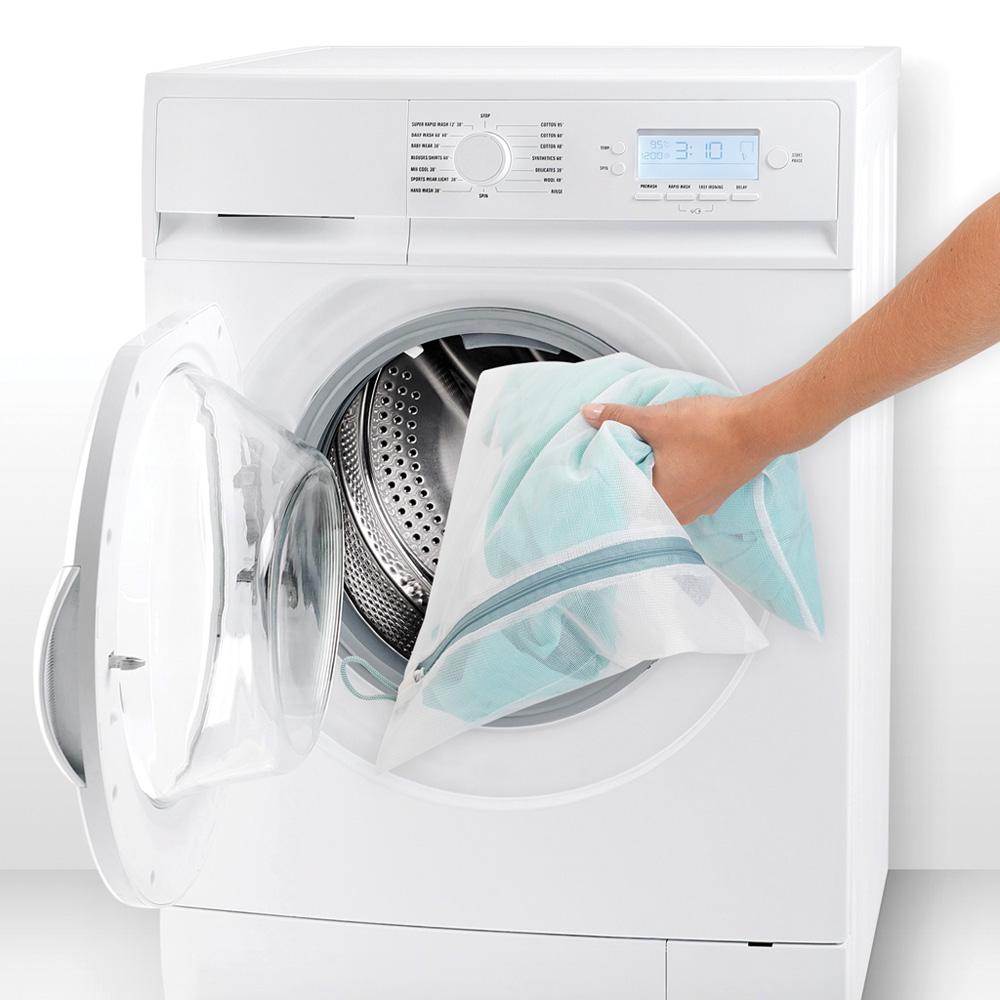 Торби за деликатно пране Brabantia White, 3 броя в два размера(5)