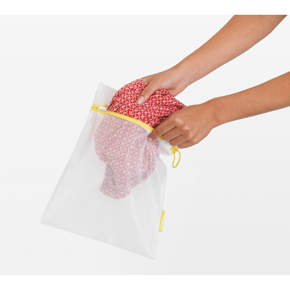 Торби за деликатно пране Brabantia White, 3 броя в два размера(7)