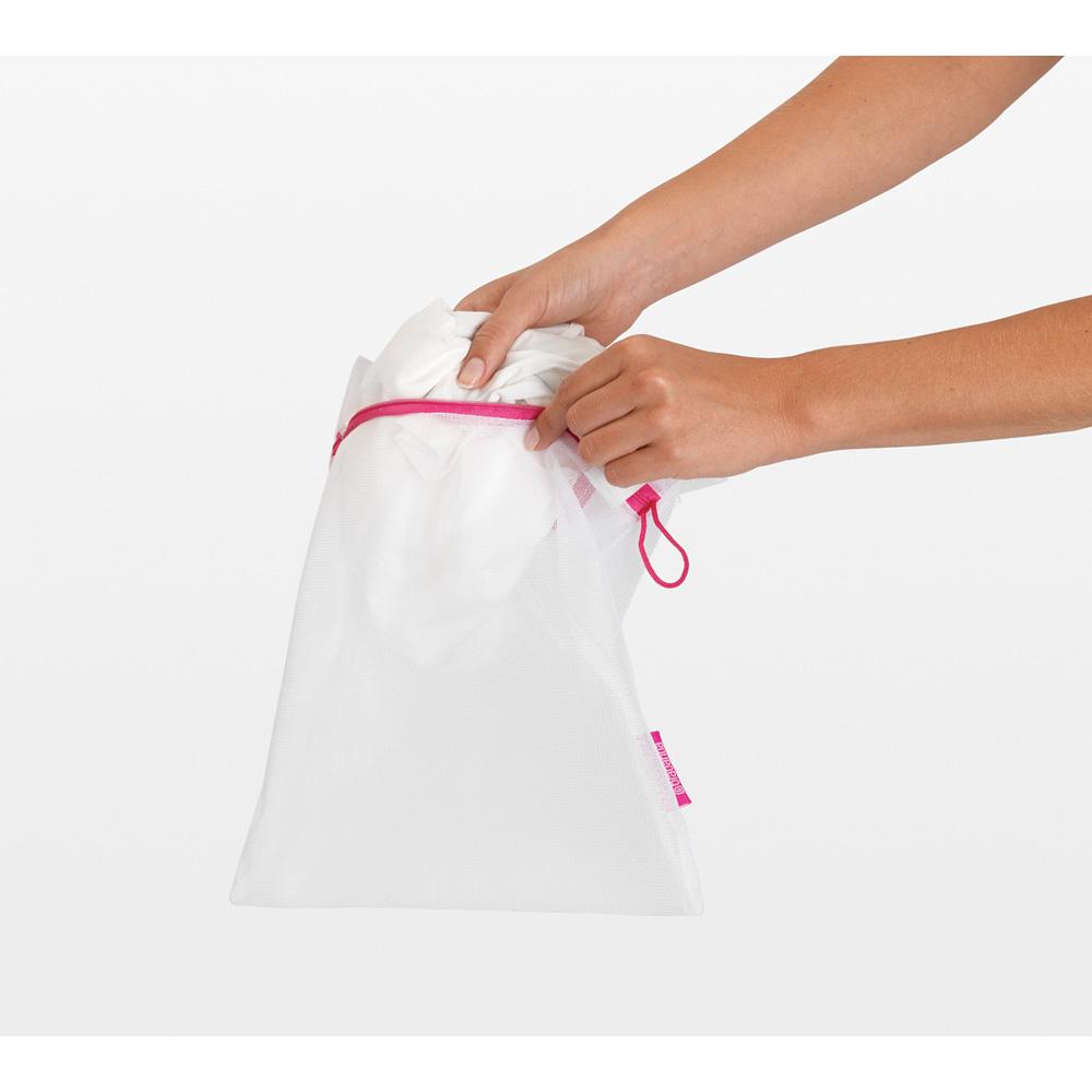 Торби за деликатно пране Brabantia White, 3 броя в два размера(8)