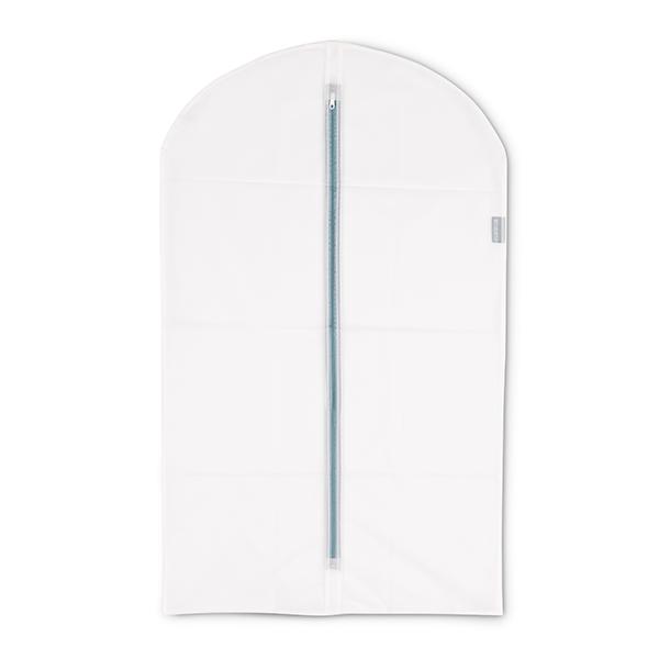 Калъф за дрехи Brabantia, размер M, 60x100cm, White, 2 броя