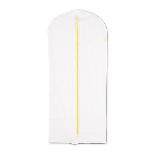 Калъф за дрехи Brabantia, размер L, 60x135cm, White, 2 броя