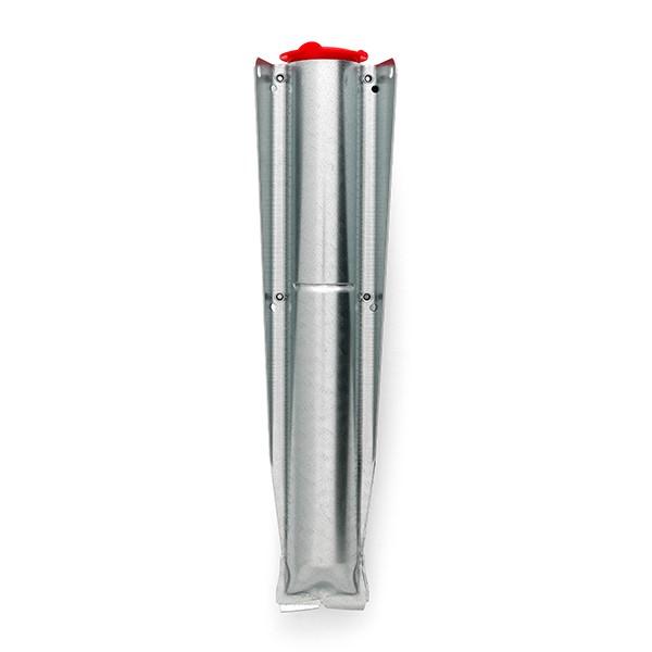 Шиш за монтаж на външен простор Brabantia Ø45mm, метален галванизиран за вкопаване или бетониране
