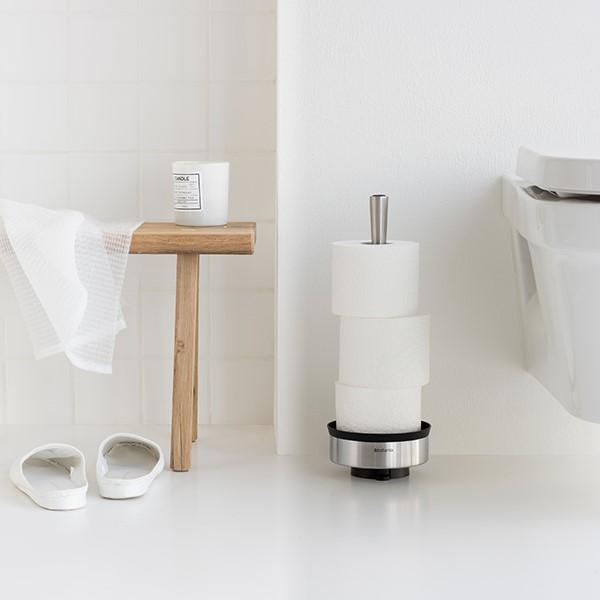 Стойка за резервна тоалетна хартия Brabantia Profile Brilliant Steel(8)