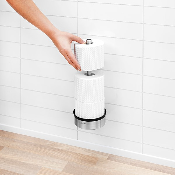 Стойка за резервна тоалетна хартия Brabantia Profile Matt Steel(12)