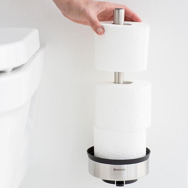 Стойка за резервна тоалетна хартия Brabantia Profile Matt Steel(7)