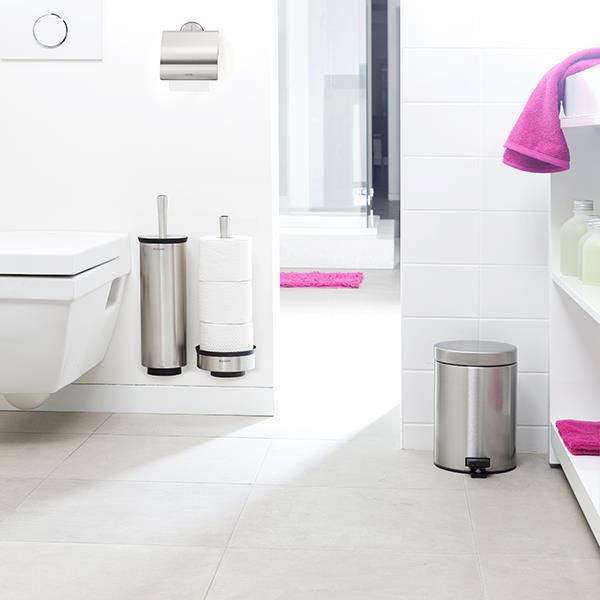 Държач за тоалетна хартия Brabantia Profile Matt Steel(4)