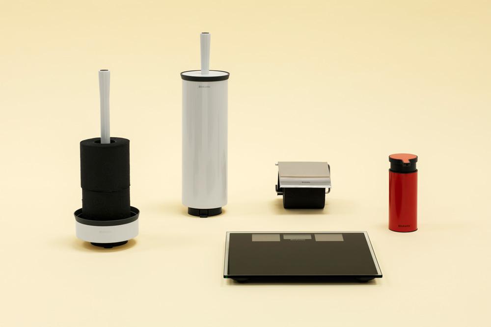 Държач за тоалетна хартия Brabantia Profile Matt Steel(5)