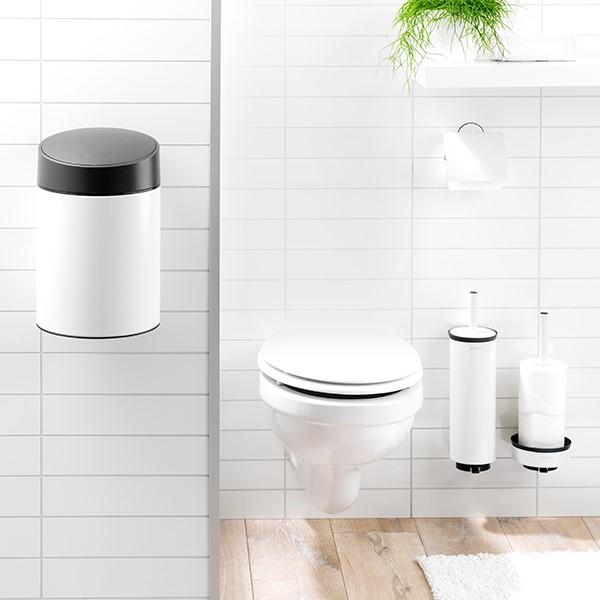 Стойка за резервна тоалетна хартия Brabantia Profile White(2)