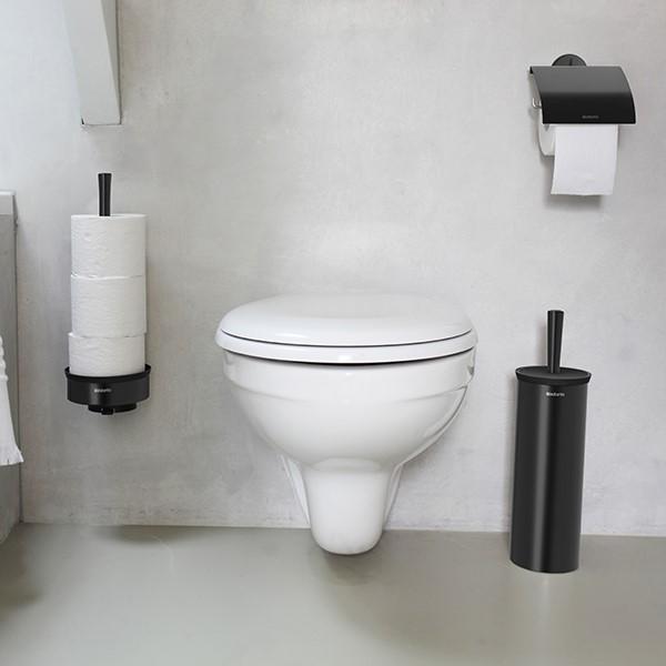 Стойка за резервна тоалетна хартия Brabantia Profile Black(1)