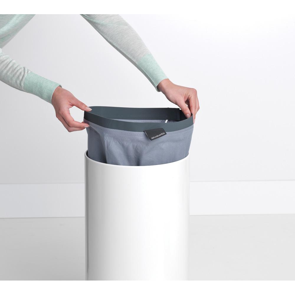 Кош за пране Brabantia 35L, White, корков капак(13)
