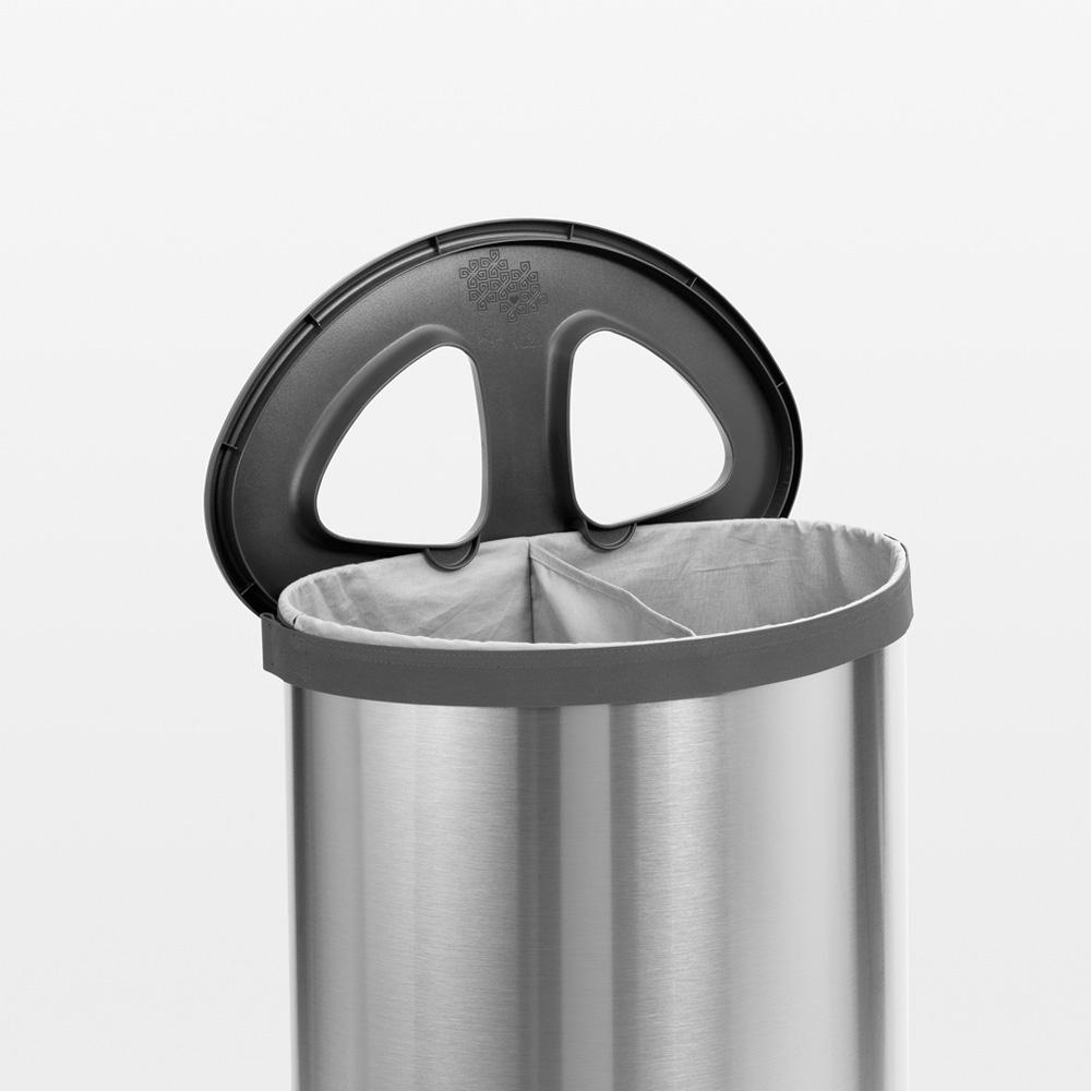 Кош за пране Brabantia Selector 55L, Matt Steel(13)