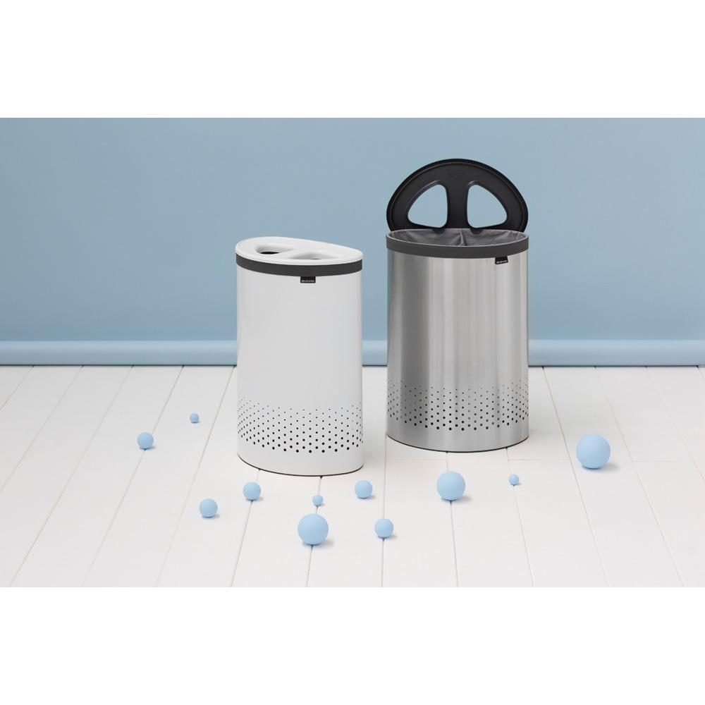 Кош за пране Brabantia Selector 55L, Matt Steel(5)