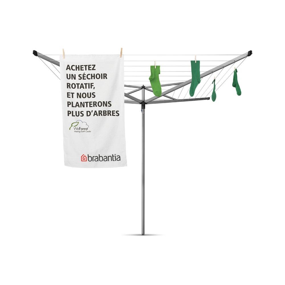 Външен простор Brabantia Essential 50m, котва за бетониране(1)