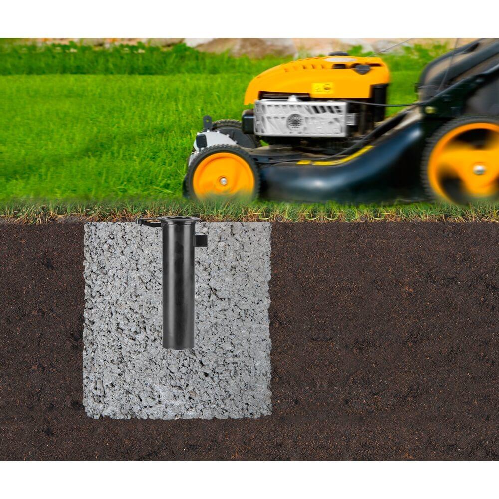 Външен простор Brabantia Essential 50m, котва за бетониране(5)