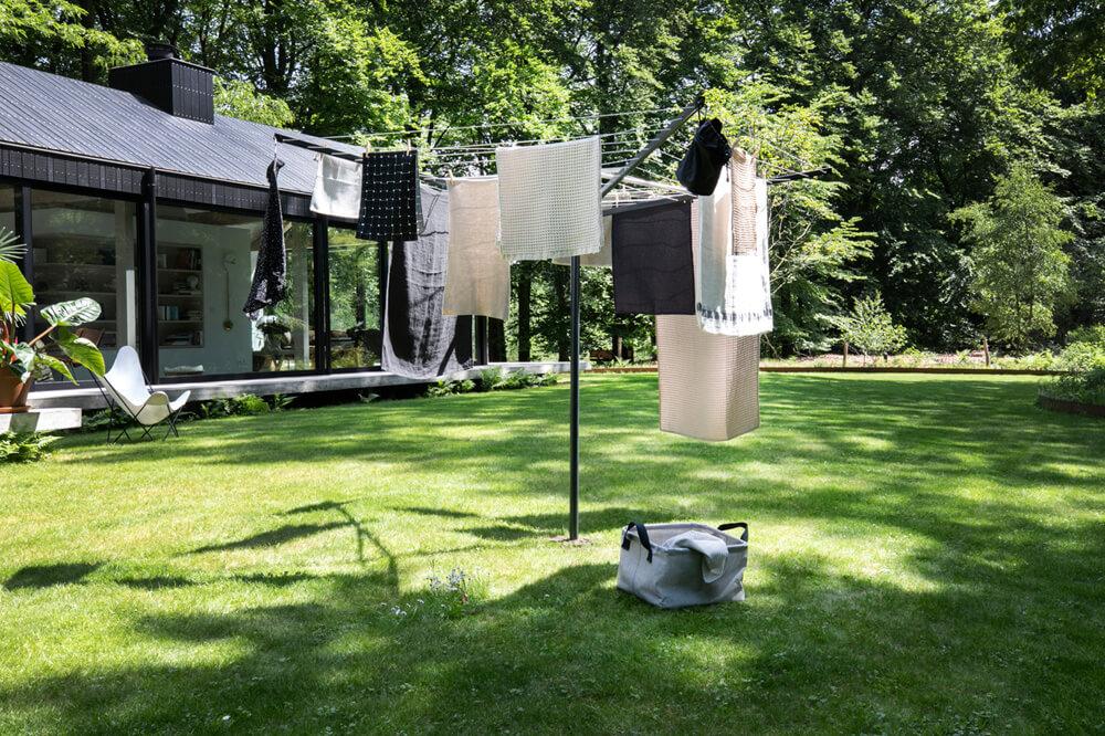 Външен простор Brabantia TopSpinner 40m, метален шиш за вкопаване или бетониране(8)