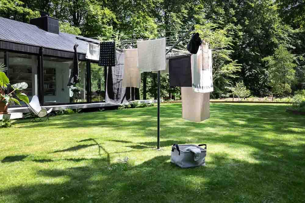 Външен простор Brabantia TopSpinner 60m, метален шиш за вкопаване или бетониране, калъф(8)