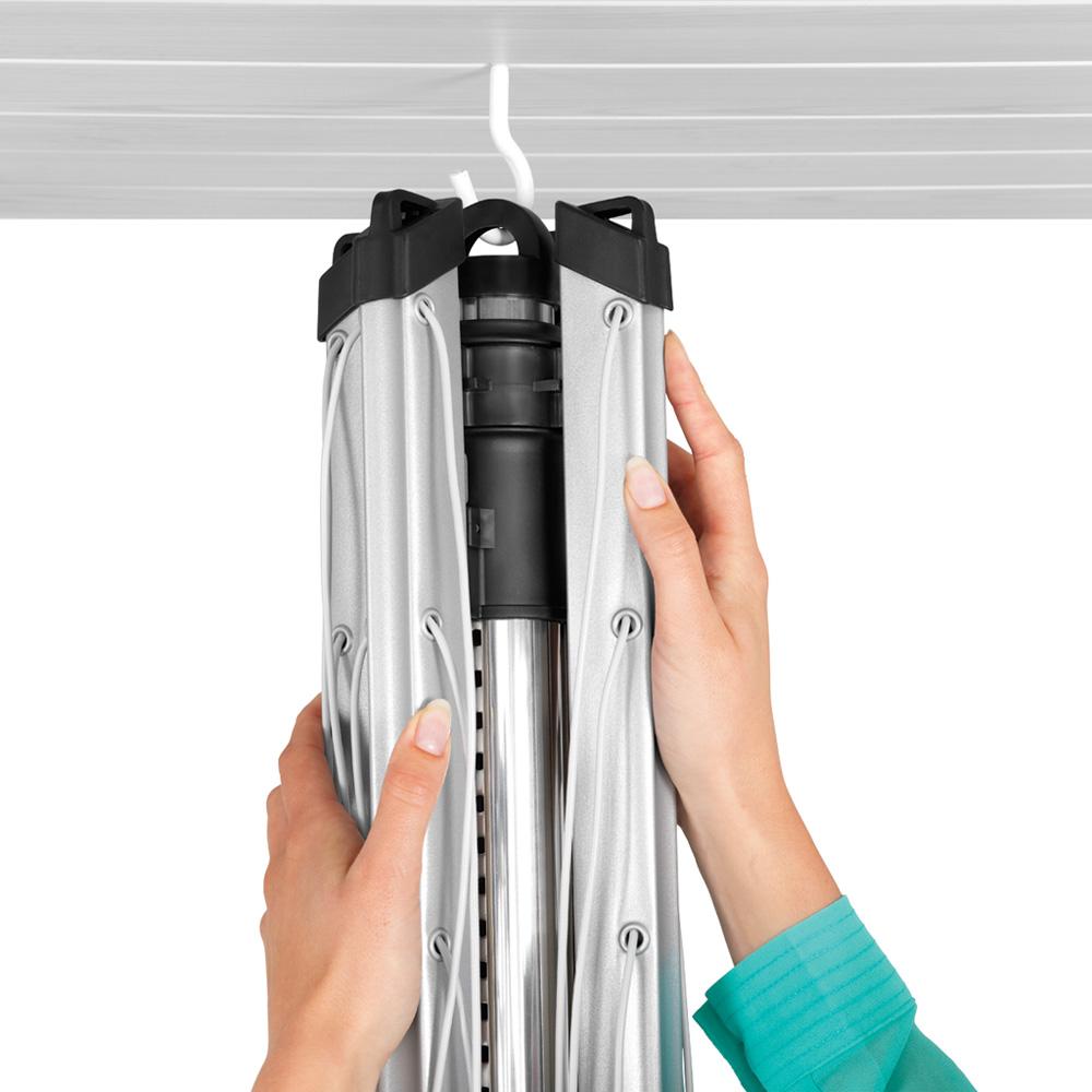 Външен простор Brabantia Lift-O-Matic 60m, метален шиш за вкопаване или бетониране(6)