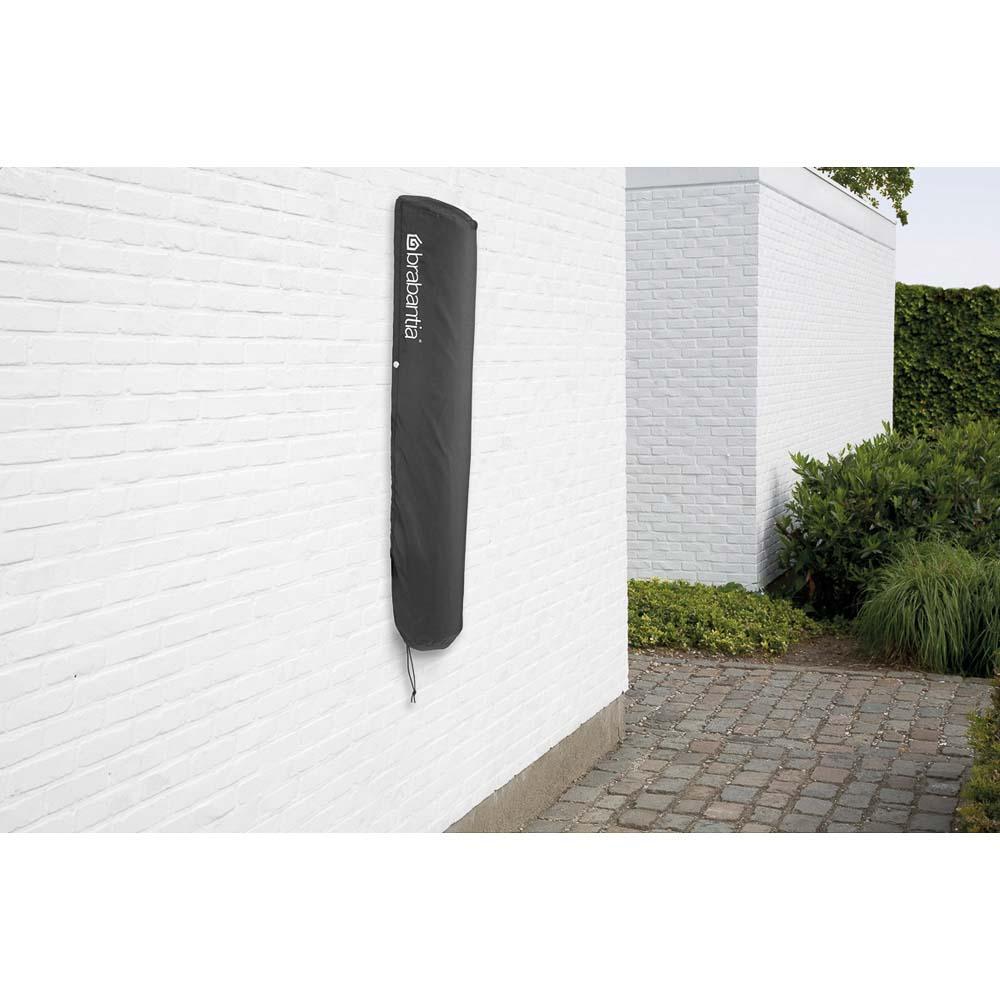 Простор за стена Brabantia WallFix 24m, Metallic Grey, калъф(16)