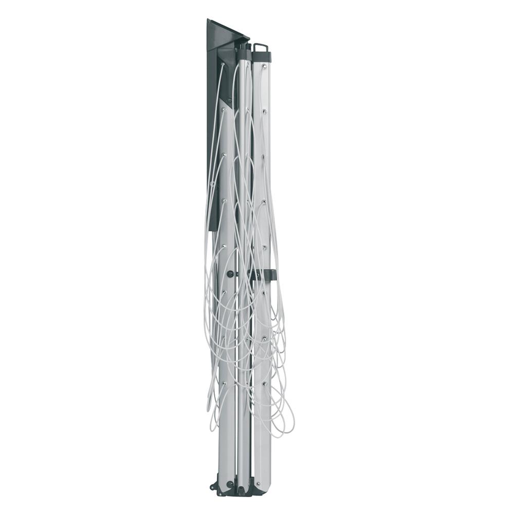 Простор за стена Brabantia WallFix 24m, Metallic Grey, калъф(4)