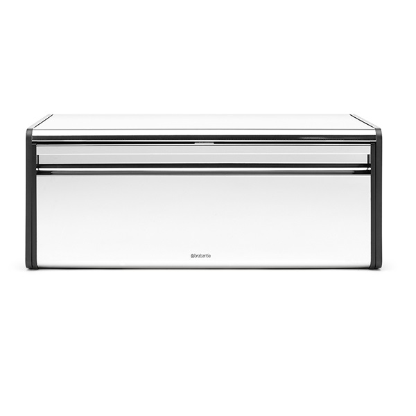 Кутия за хляб Brabantia Fall Front Brilliant Steel