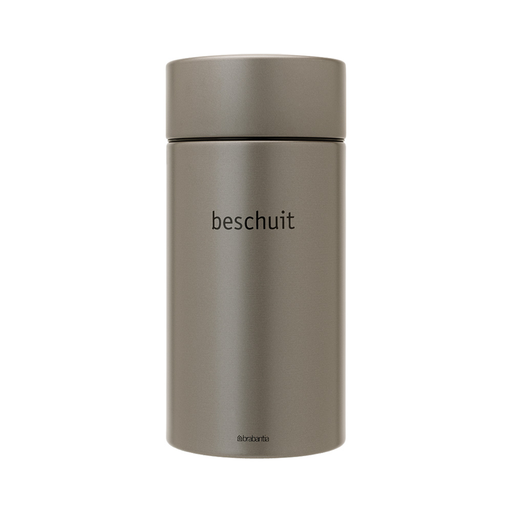 Буркан Brabantia Beschuit 1.7L, Platinum