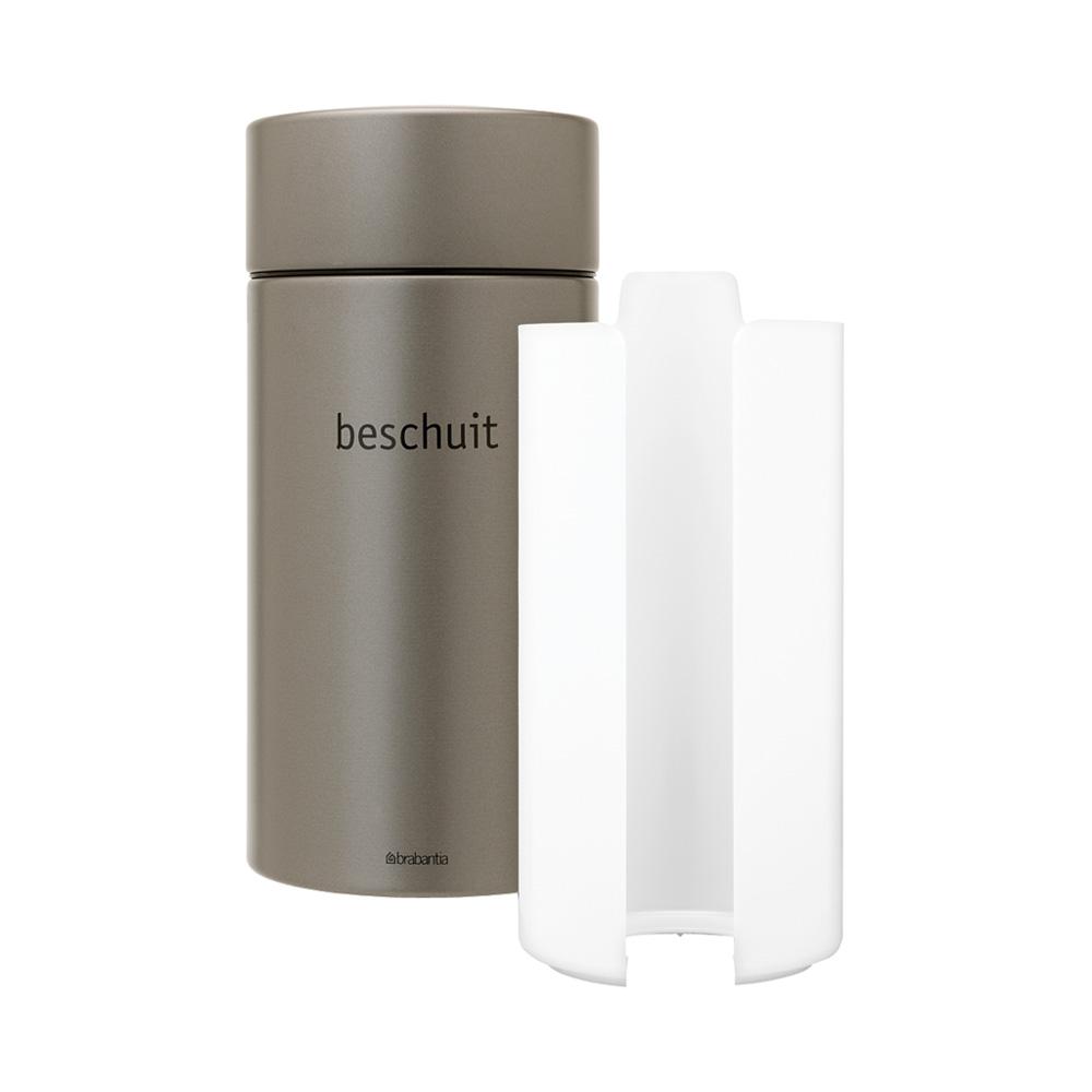 Буркан Brabantia Beschuit 1.7L, Platinum(1)