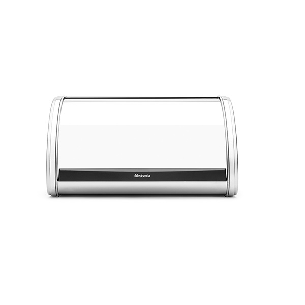 Кутия за хляб Brabantia Roll Top Medium Brilliant Steel, средна