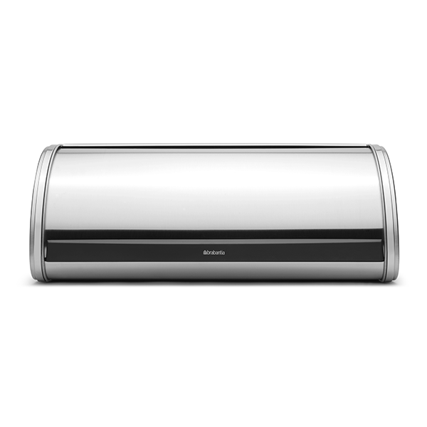 Кутия за хляб Brabantia Roll Top Matt Steel
