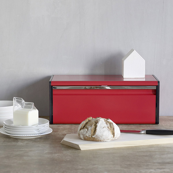 Кутия за хляб Brabantia Fall Front Passion Red(3)