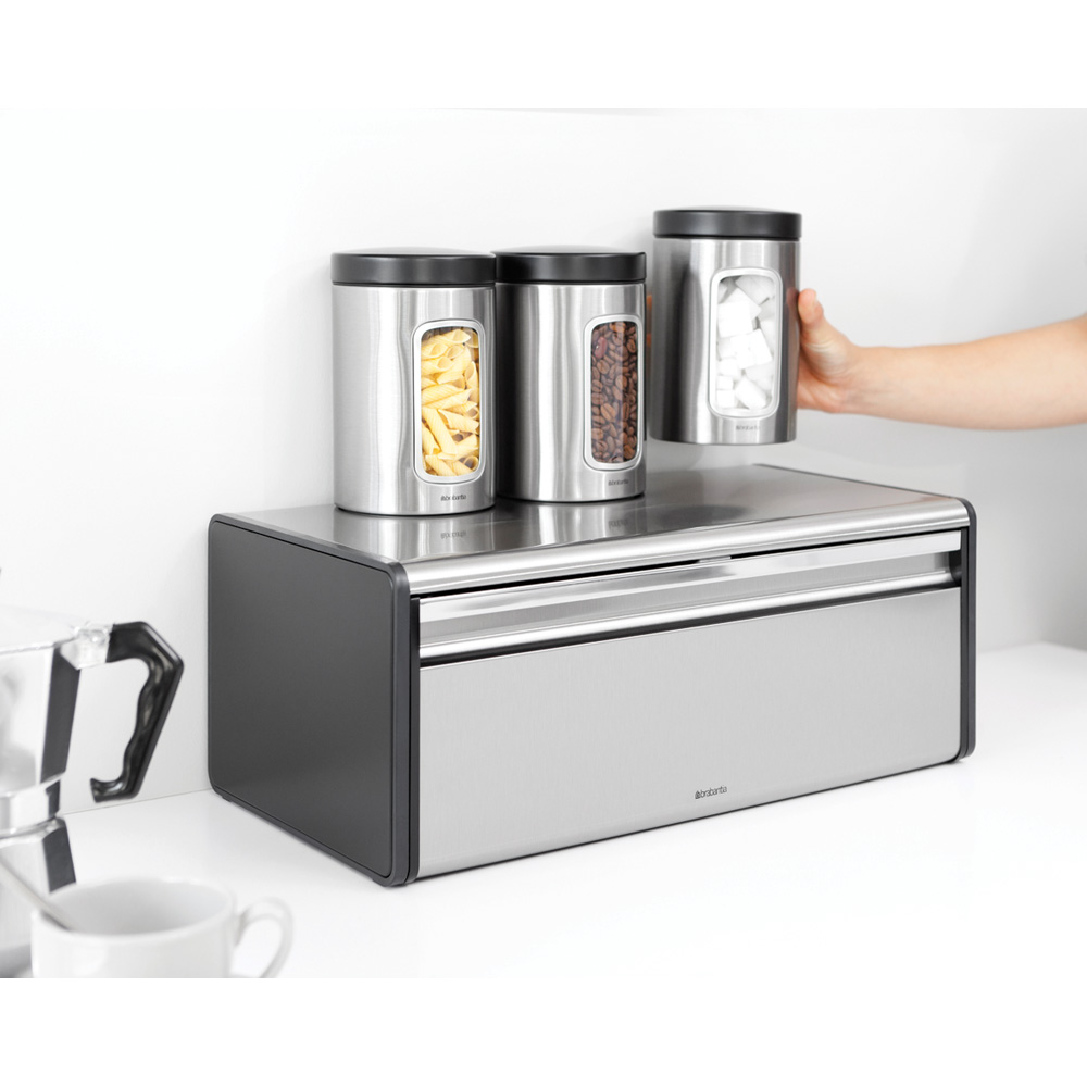 Кутия за хляб Brabantia Fall Front Passion Red(7)