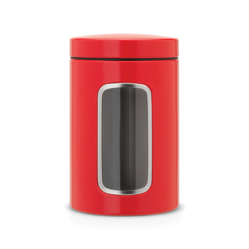 Буркан Brabantia Window 1.4L, Passion Red