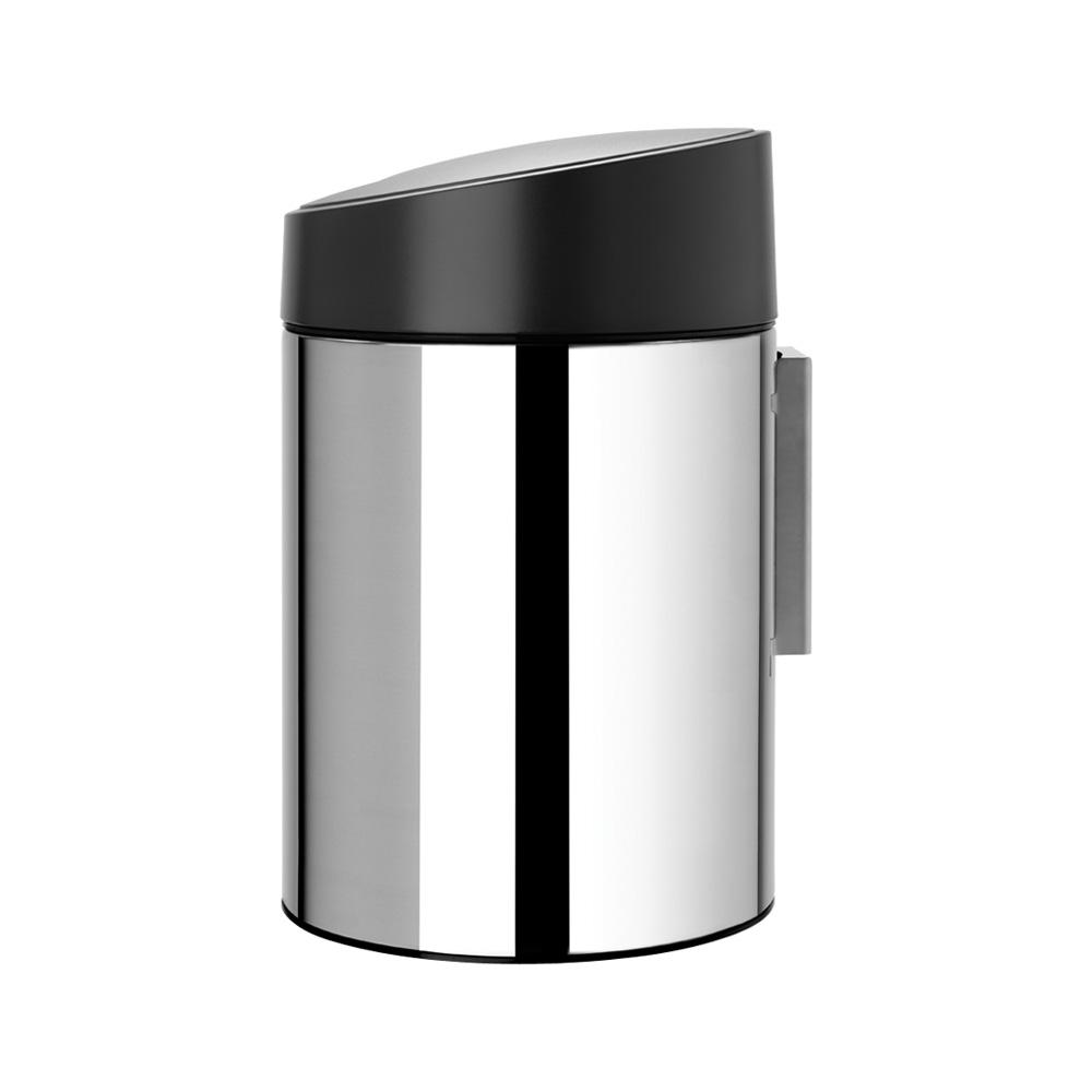 Кош за смет Brabantia Slide 5L, Brilliant Steel(2)