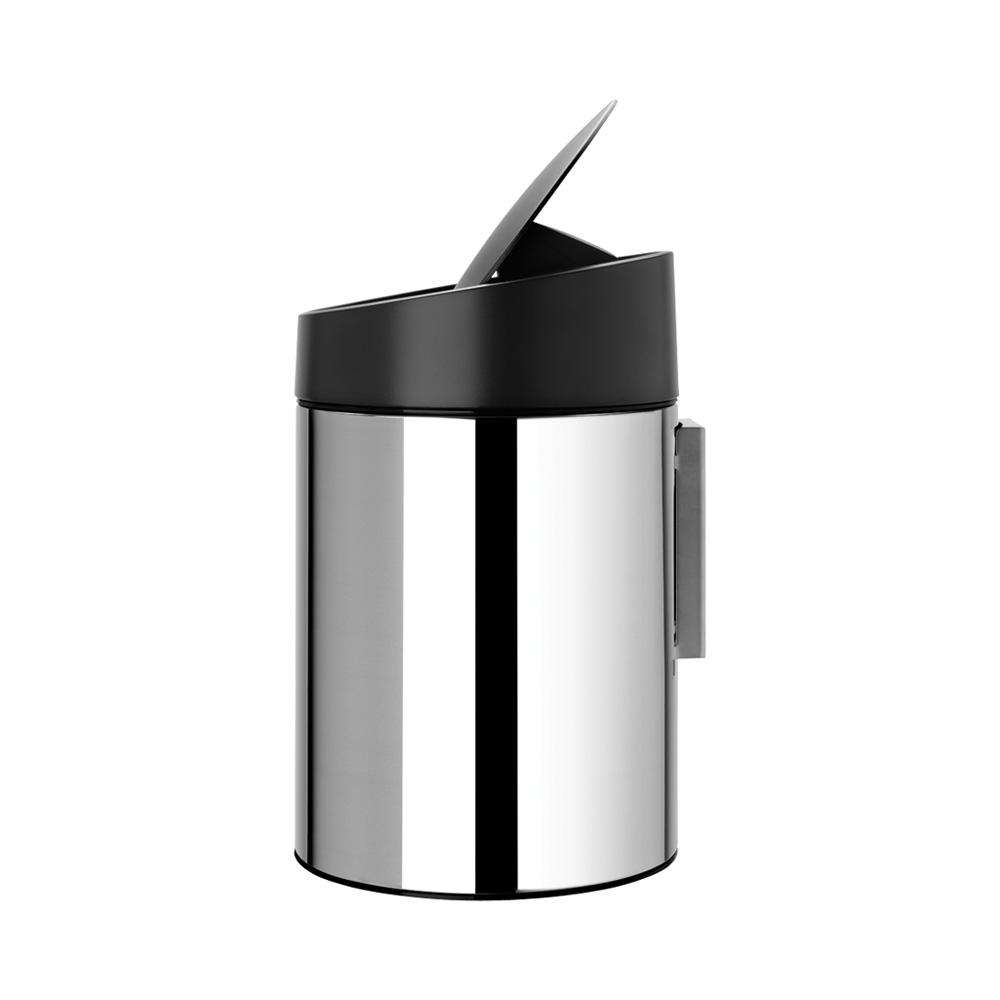 Кош за смет Brabantia Slide 5L, Brilliant Steel(5)
